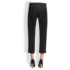 Acne-Pants, leggings-Black
