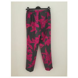 Dries Van Noten-Un pantalon, leggings-Multicolore