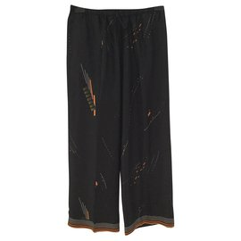 Dries Van Noten-Un pantalon, leggings-Noir