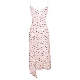 Chanel-vestido de seda muito raro-Multicor