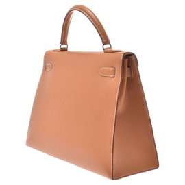 Hermès-hermes kelly 32-Brown