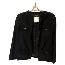 Chanel-Skirt suit-Black