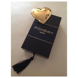 Yves Saint Laurent-vintage 1980s YSL Collection-Golden