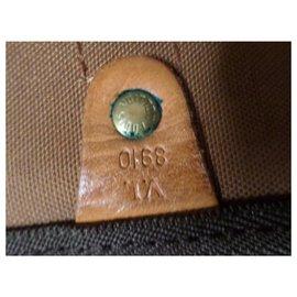 Louis Vuitton-Keepall Bandouliere 55-Marron