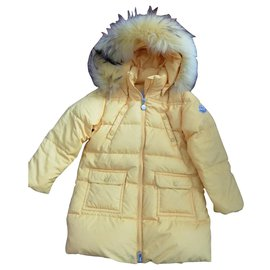 Moncler-Fur-Yellow
