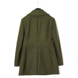 Prada-COLLAR FR REMOVABLE OLIVE40-Dark green