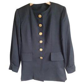 Yves Saint Laurent-YSL tailor-Navy blue