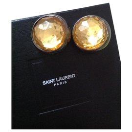 Yves Saint Laurent-vintage 1980S-Cognac
