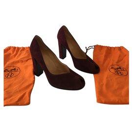 Hermès-Heels-Purple