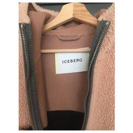 Iceberg-Manteau oversize colorblock Iceberg-Multicolore
