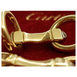 Cartier-Cartier yellow gold cufflinks-Golden