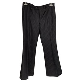Gucci-Un pantalon, leggings-Gris anthracite