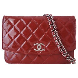 Chanel-Wallet on Chain Chanel-Red