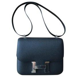 Hermès-Constance 24 cm-Black