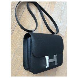 Hermès-Constance 24 cm-Noir