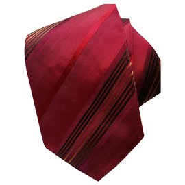 Autre Marque-Boss Tie-Red