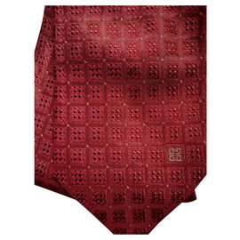 Givenchy-Givenchy tie-Cognac