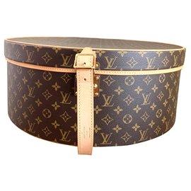 Louis Vuitton-Boîte à chapeau-Marron