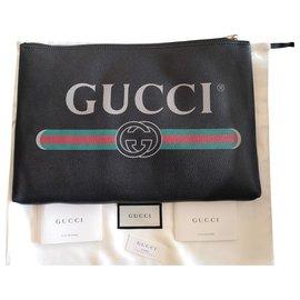 Gucci-Gucci Pouch-Noir