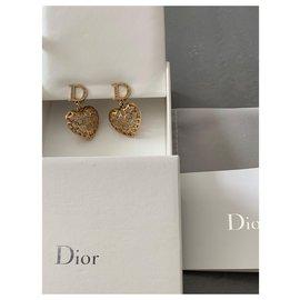 Christian Dior-Boucles d'oreilles Dior Neuves 2019-Cuivre