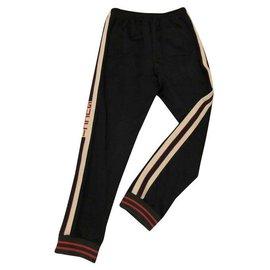 Gucci-pantalon jogging-Noir