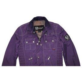 Belstaff-Jackets-Purple