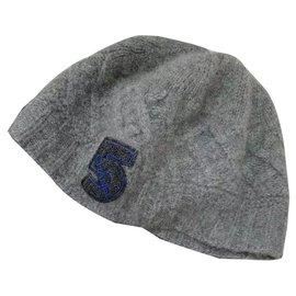 Chanel-Hats-Dark grey