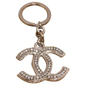 Chanel-Bag charms-Silvery