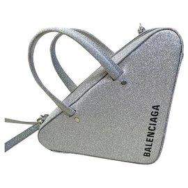 Balenciaga-Handbags-Silvery