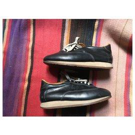 Hermès-hermes sneakers-Navy blue