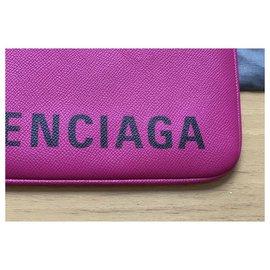 Balenciaga-Superb everyday balenciaga clutch-Pink