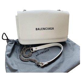 Balenciaga-Handbags-White
