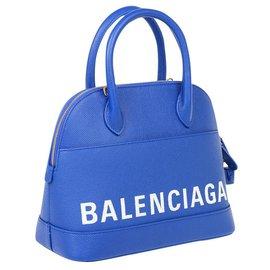 Balenciaga-BALENCIAGA SAC BAG BAG VILLAS-Blue