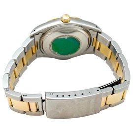 """Rolex-Montre Rolex """"Oyster Perpetual"""" en or jaune et acier.-Autre"""