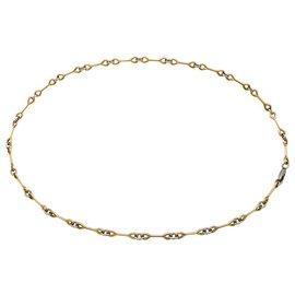 Cartier-Collier Cartier, deux tons d'or.-Autre