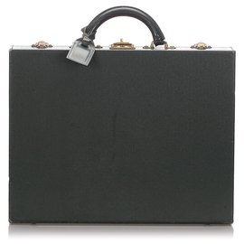 Louis Vuitton-Louis Vuitton Green Taiga Diplomat Briefcase-Green