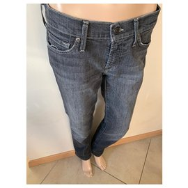 7 For All Mankind-Jeans-Grey