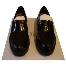 Dior-Moccasin-Black