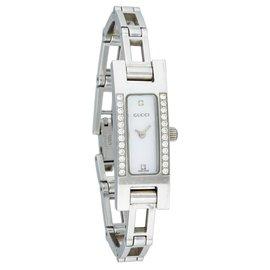 Gucci-Diamants 3900L-Argenté