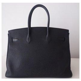 Hermès-SAC HERMES BIRKIN NOIR-Noir