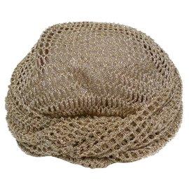 Autre Marque-Paulette Hats-Golden