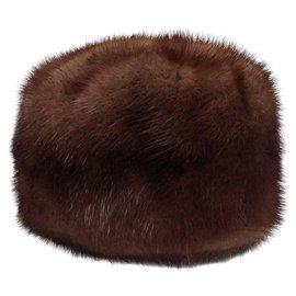 Autre Marque-Paulette Hats-Caramel
