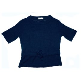 Lanvin-Tricots-Bleu Marine