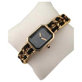 Chanel-Relógios finos-Preto