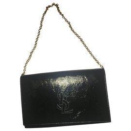 Yves Saint Laurent-Handbags-Black