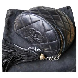 Chanel-Sublime fanny pack Chanel Vintage-Black