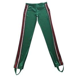 Gucci-Pantalon Gucci vert tout neuf-Vert