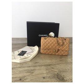 Chanel-Chanel timeless medium beige-Beige