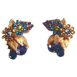 Autre Marque-Boucles d'oreilles-Multicolore