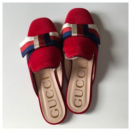 Gucci-Mules-Rouge